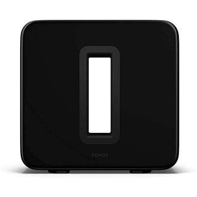 SONOS SUB (GEN3) BLACK Subwoofer inalámbrico, color negro